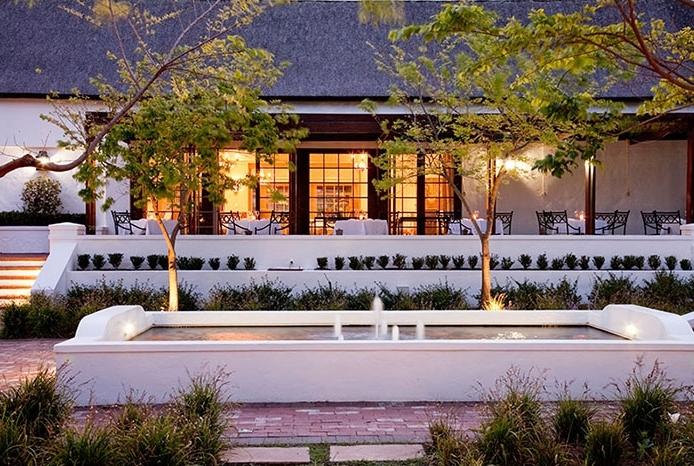 Buitenverwachting Restaurant, Courtyard & Coffee Bloc