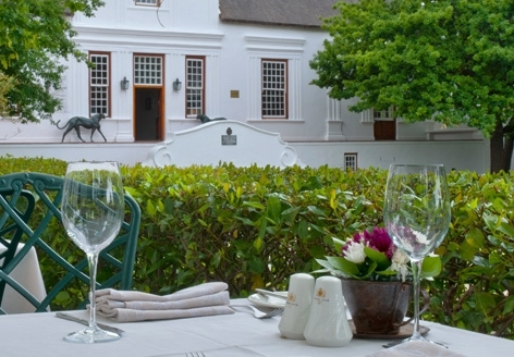 Lanzerac Wine Estate - Dining