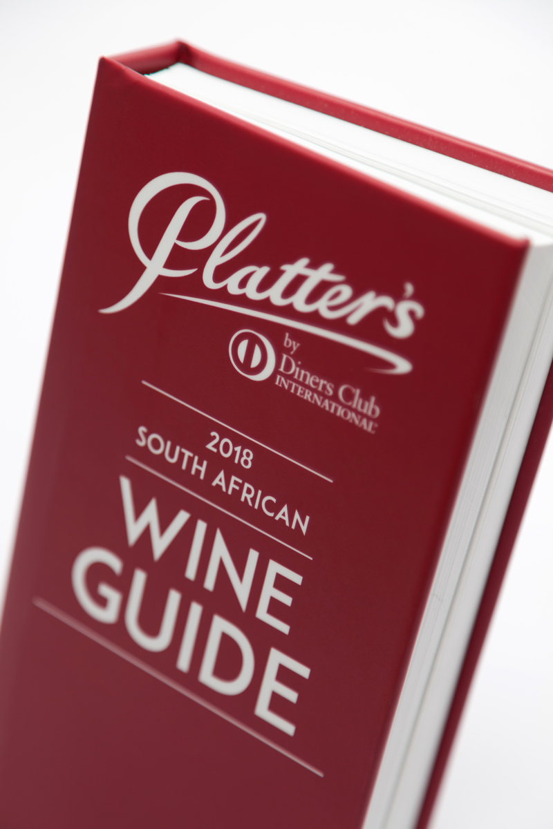 The Platter's by Diners Club South African Wine Guide 2018 was launched at  Cape Town's The Table Bay Hotel today with over 200 guests in attendance,  ...